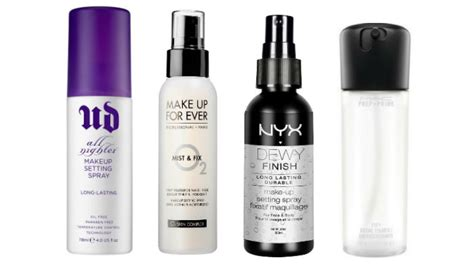 Makeup Spray 4 tips to help your foundation last all day the