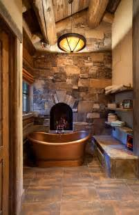 Country Master Bathroom Ideas by 25 Best Ideas About Bathroom Fireplace On Pinterest