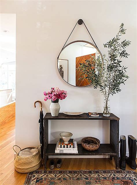 making it lovely choosing a console table and mirror for an entryway