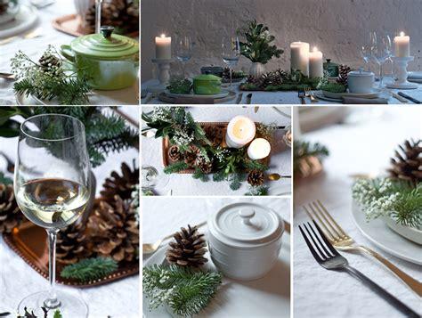 tisch dekorieren tipps einfache und schnelle weihnachtsdekoration foodlovin
