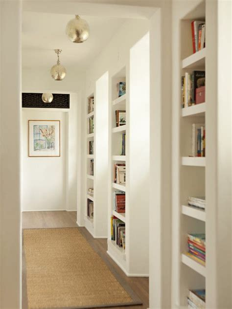 nice way to make use of usually wasted wall space in a
