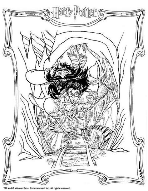 dibujos para colorear harry potter ogro y harry dibujos para colorear hagrid con harry es hellokids com