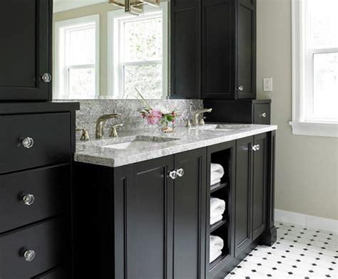 black vanity bathroom ideas 15 black bathroom vanity sets home design lover