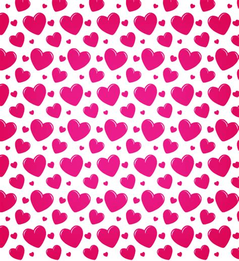 Pattern Heart Vector | transparent heart seamless vector pattern vector patterns