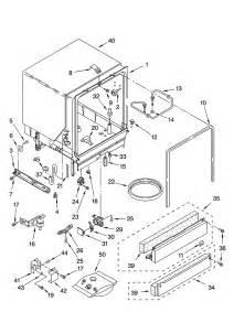 Dishwasher Parts Kenmore Kenmore Dishwasher Inner Door Parts Model 66516999400