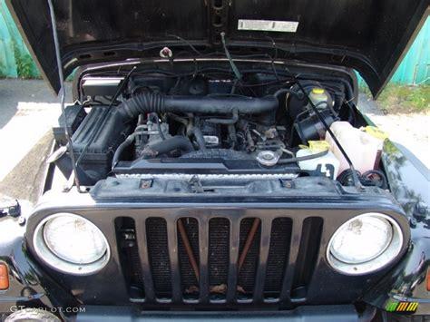4 0 6 cylinder jeep engine 1997 jeep wrangler sport 4x4 4 0 liter ohv 12 valve inline