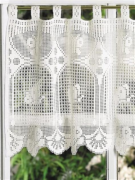 crochet curtains pattern free patterns 8 beautiful and easy to crochet curtain