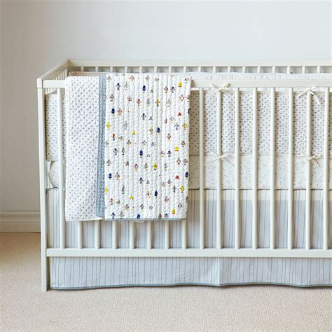 Grey Crib Sheet by Pebble Grey Fitted Crib Sheet By Auggie