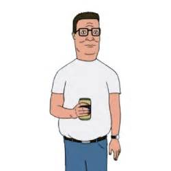 Hank hill voiced by mike judge king of the hill