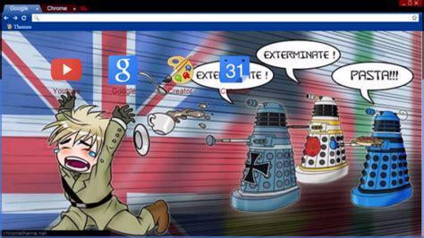 theme chrome doctor who hetalia doctor who crossover chrome theme themebeta