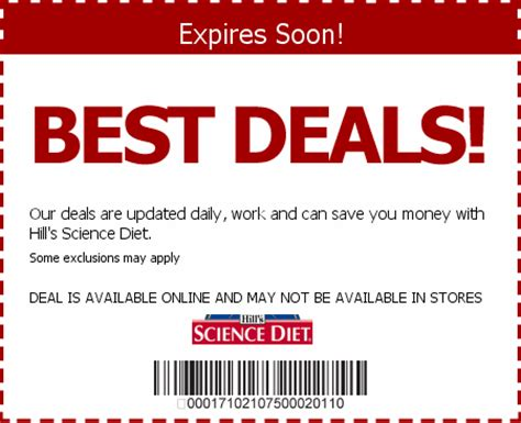 science diet dog food coupons printable 2014 hill s science diet coupons save w 2015 coupons coupons
