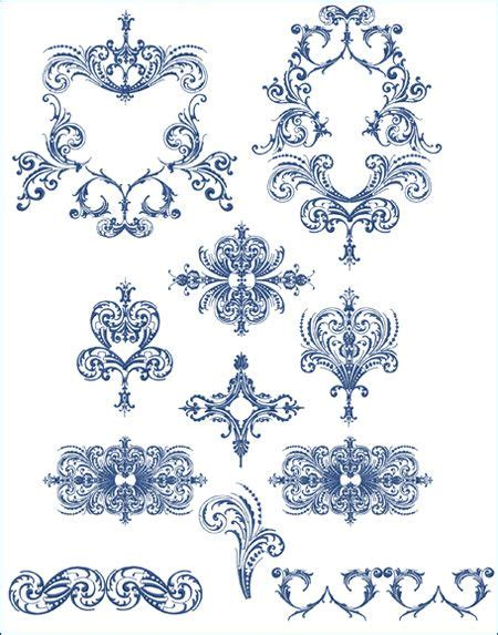 royal pattern frame 330 best images about embroidery borders corners frames