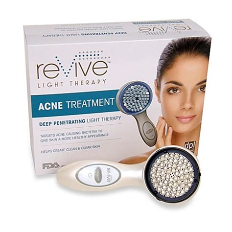 revive acne light therapy system revive light therapy portable handheld acne treatment