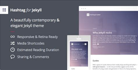 jekyll responsive layout 15 jekyll themes templates