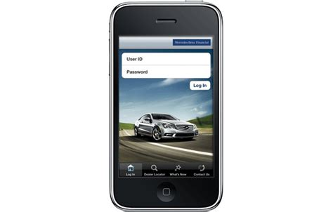 Mercedes Financial Phone by Iphone Financial App From Mercedes Now On