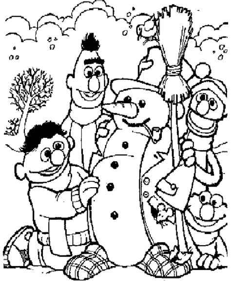 sesame street coloring pages free az coloring pages