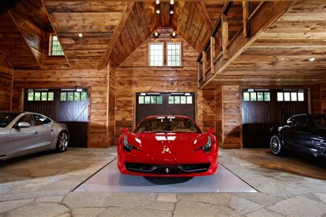 Foreign Car Garage by Ultimate Cave And Sports Car Showcase Traditional