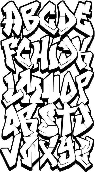 dibujar abecedario  letras en graffiti  tipos de