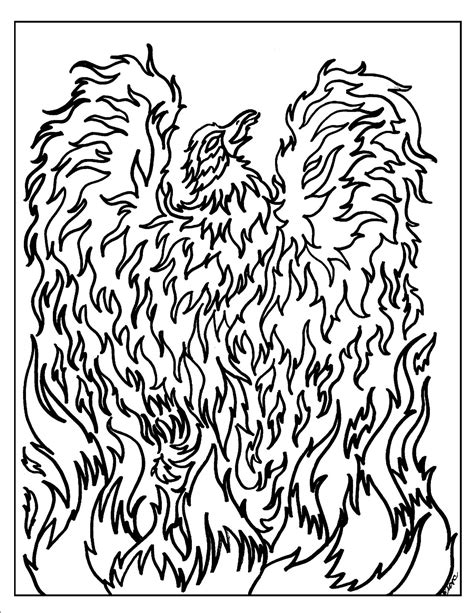 fantasy coloring pages s mac