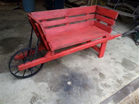 wheelbarrow bench  don  lumberjockscom