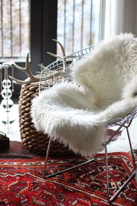 sheepskin throw for rocking chair 29 best images about collection sheepskin hides on