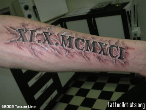roman name tattoo generator roman numeral tattoo fonts images frompo