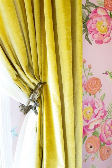 yellow velvet curtains top 25 best yellow curtains ideas on pinterest yellow