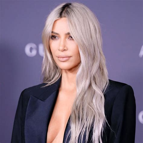 kim kardashian grey blonde hair all the times the kardashians have raised awareness for