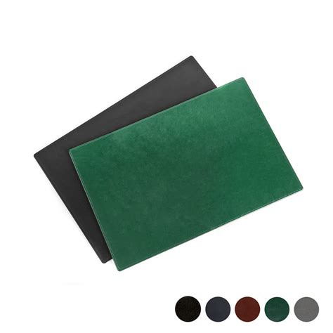 large leather desk mat large desk pad leather options colours coasters