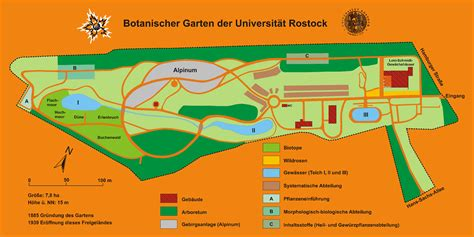 rostock botanischer garten file botanischer garten rostock plan 2010 png wikimedia