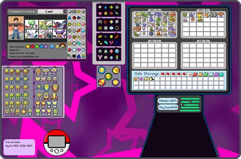 make trainer card trainerpage deviantart