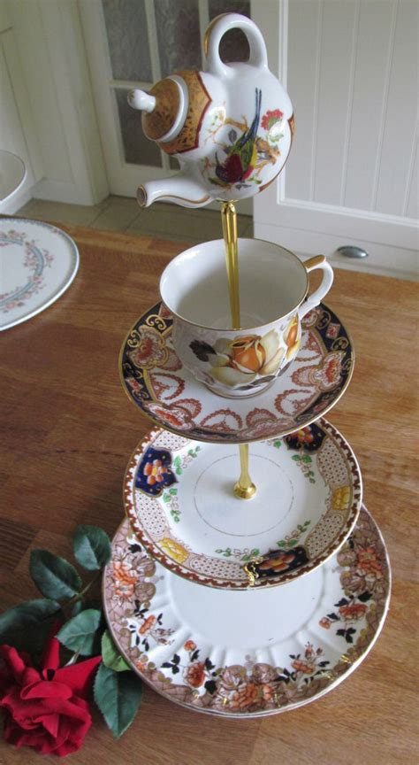 plate stands for china cabinet 3 tiered cake stand vintage china plates unique oriental