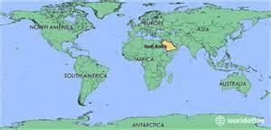 Saudi Arabia World Map by Where Is Saudi Arabia Where Is Saudi Arabia Located In