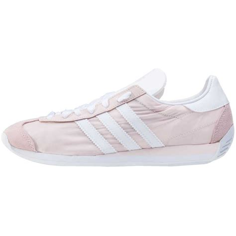 all light pink adidas adidas country og w womens trainers in light pink