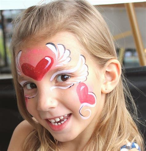 cute faces of girls cute face painting ideas for girls crafts and arts ideas