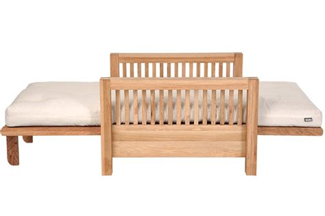 Single Seater Oak Wood Sofa Bed Futon Company Single Seater Sofa Bed