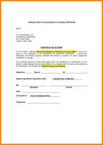 Authorization Letter Behalf 4 authorization letter samples on behalf dialysis nurse