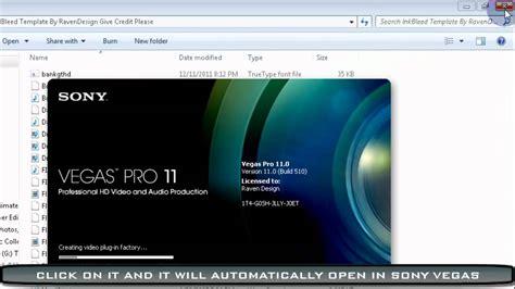 tutorial edit video sony vegas pro sony vegas pro intro tutorial how to download my intros