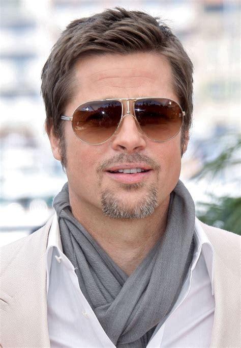 goggle over 50 haircuts brad pitt aviator sunglasses brad pitt sunglasses looks
