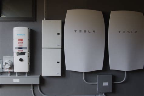 sunrun begins installing tesla home batteries computerworld