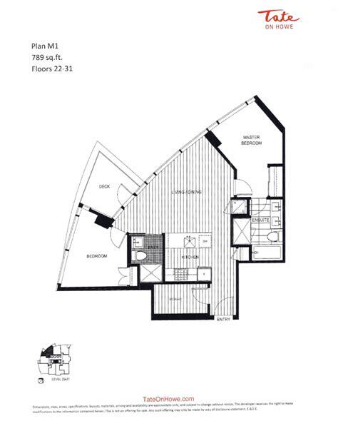 Tate On Howe 1265 Howe Street Vancouver Bonds Group Of Tate House Floor Plan