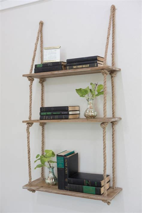 25 best ideas about rope shelves on home