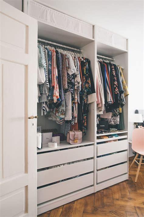 Kleiderschrank Offen by Best 25 Begehbarer Kleiderschrank Ikea Ideas On