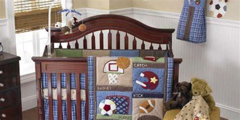 sports theme bedding easy nursery decor easy nursery decor