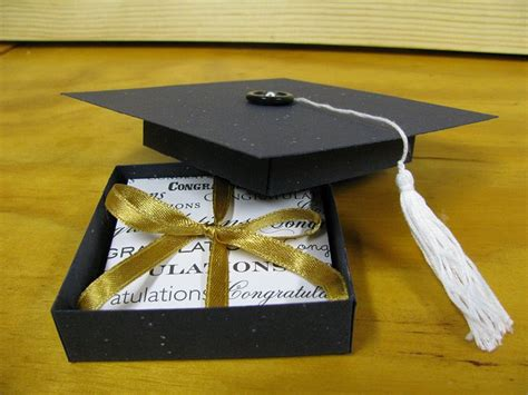 Graduation Gift Card Box - graduation hat gift box by ixfquiller at splitcoaststers