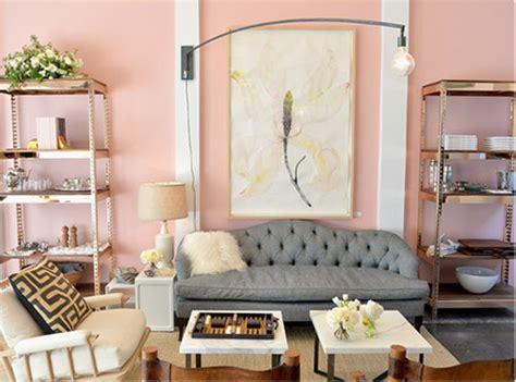 wohnzimmer altrosa modernes wohnzimmer mit altrosa wandfarbe freshouse