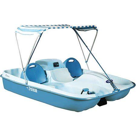 pelican 2 person paddle boat pelican rainbow e dlx pedal boat walmart