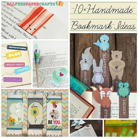 all paper crafts 10 handmade bookmark ideas allfreepapercrafts