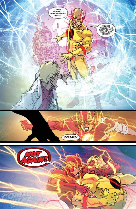The Flash Rebirth exclusive preview the flash rebirth 1 comic vine