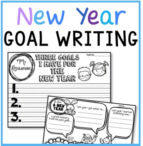 writing about new year writing templates for the new year free whimsy